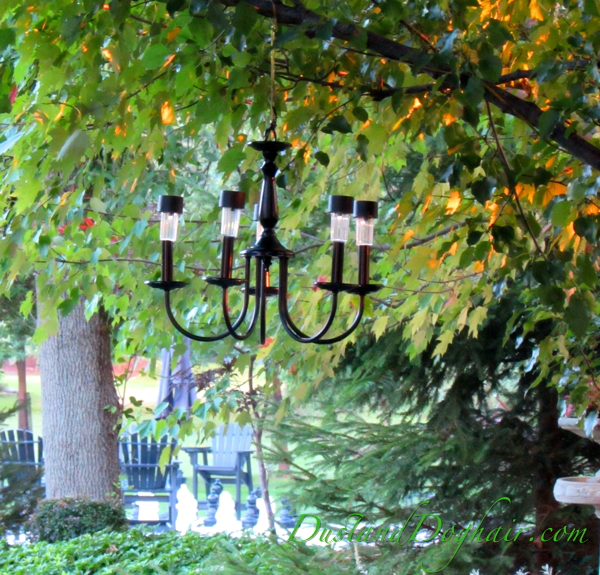 Garden Lighting Options Solar Chandeliers